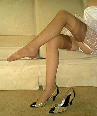 Suzanne Full Fashion Nylon Stockings